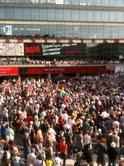 Ljusmanifestation Sergels torg 29 juli 2011